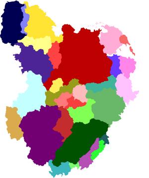 Triteia countries blurred