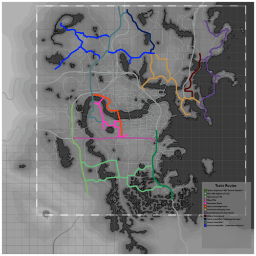 Fallout 2289 Trade Routes