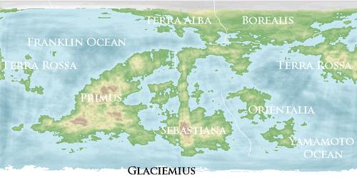 NewWorldMap continents