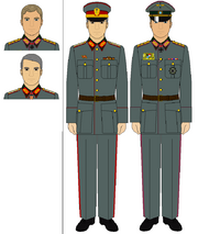 Neubayern Mabuda uniform differences (New World Map Game)
