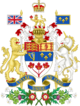 Coat of arms of Canada 1957-1994