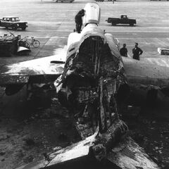 The 6th fighter bomber was arsoned by yobs in 995AF at Derry Airbase.