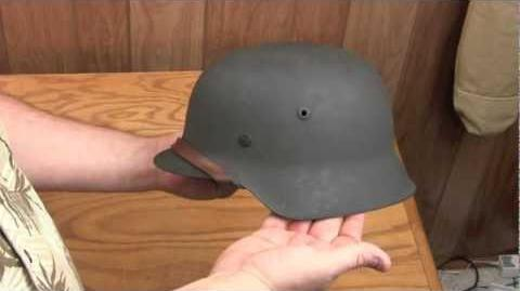 The World War II German Helmet — How They Were Made and Great Specimen of One