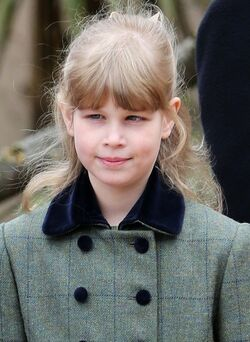 Lady Louise Windsor leaves SyGsyWsyM0Xl