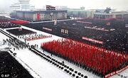 DSRO flag parade