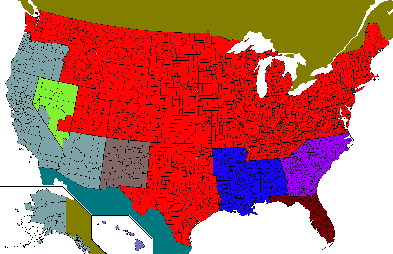 CategoryShattered Stars And Stripes Map Game Map Game Wiki - Fallout map of the us