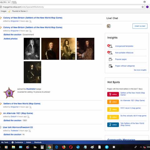|Site screen shot.