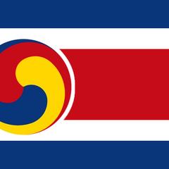 Alternate Korean Flag