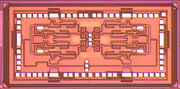 DARPA amplifier on silicon USC