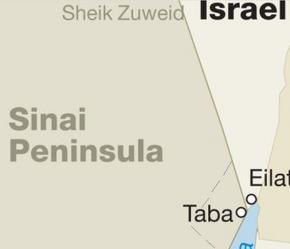 Sinai Penninsula-Israel Territory