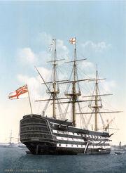 Victory Portsmouth um 1900