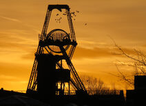 The Institute Winding Tower at Chatterley Whitfield Colliery