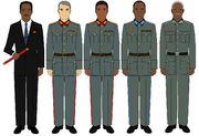 Mabauda President and Generals (New World Map Game)