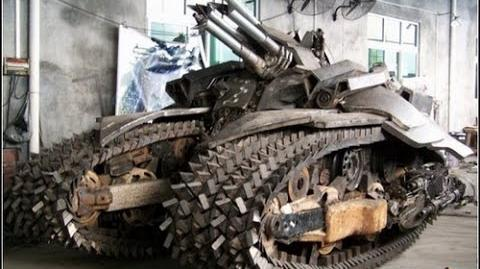 NEW TECHNOLOGY Robot Tank to challenge US Military & NATO power