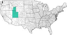 Deseret map