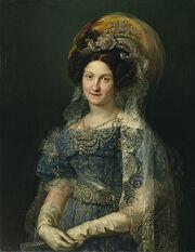 María Cristina de Borbón-Dos Sicilias, reina de España