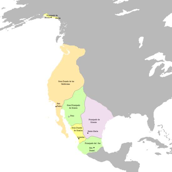 Organizacion Territorial del Reino de Sonora (Dinastias) - 3