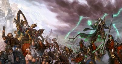 Batalla con los Enanos