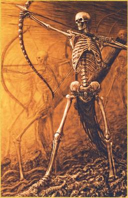 Arqueros Esqueleto