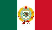 Bandera de los Estados Unidos Socialistas Mexicanos (OT) 1