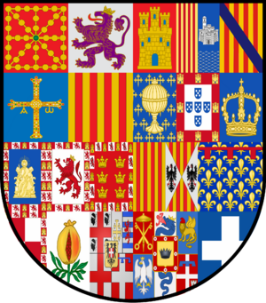 Escudo Simple de Hispania (Dinastías) - 1