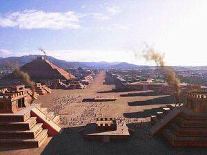 Majea desde el templo de Riveira