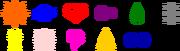Digimon crest vectors by ldejruff-d5kghti