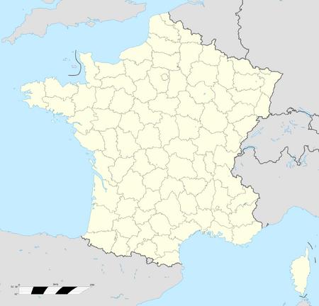 Departamentos de Francia 1815