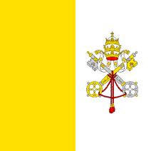 Bandera de la Ciudad del Vaticano