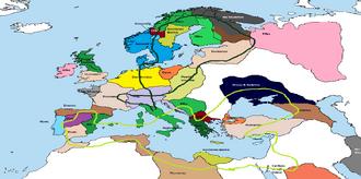 Mapa Diplomacia LN
