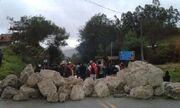 Carretera bloqueada