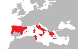 Imperio de Hispania (Dinastias)