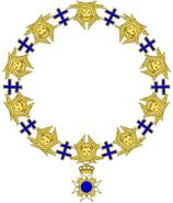 Imperial Orden de los Superiores Servidores Celestiales - Collar