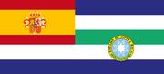 Bandera de la Gobernación General de la Costa Rica Española