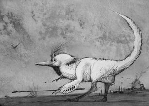 Dinosauroid Surprise by nemo ramjet