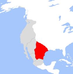 Ubicacion del Principado de Oriente en Sonora (Dinastias) - 2