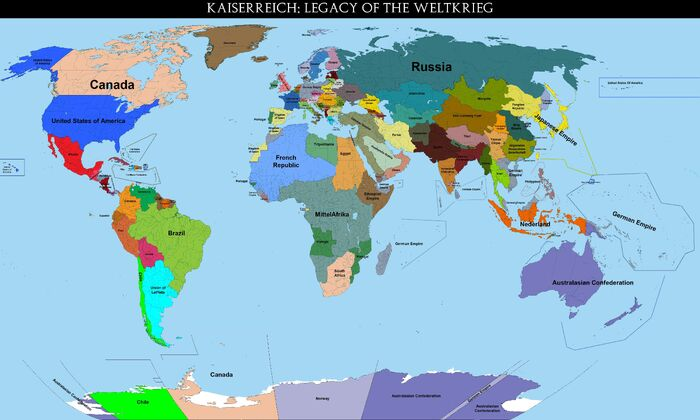 Mapa Kaiserreich 2.0 base