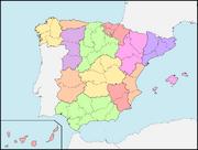 División Política de España (1833)