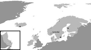 Ciudades de Arendellam por Población - 1