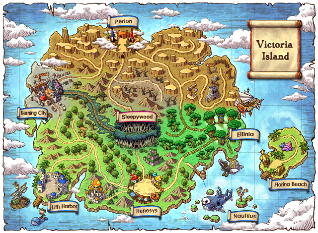 List of Victoria Island Maps MapleCharts Wiki FANDOM powered by