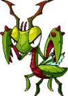 Mob Blood Mantis