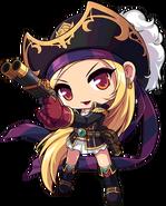 ClassArtwork Pirate (RED, Female)