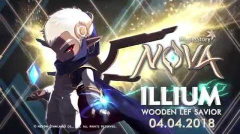 MapleStory NOVA New Job Illium