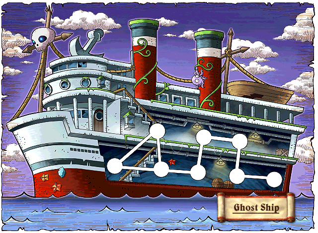 WorldMap Ghost Ship