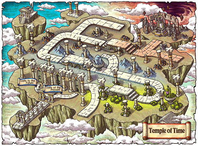 WorldMap Temple of Time