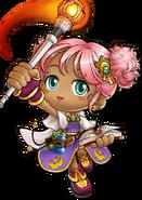 ClassArtwork Magician (Maple Island Revamp, Female)