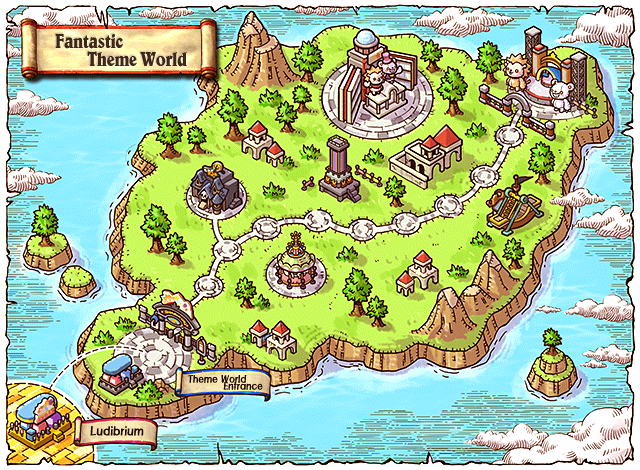 WorldMap Fantasy Theme World