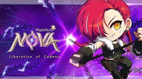 MapleStory Nova Liberation of Cadena Content Update Guide