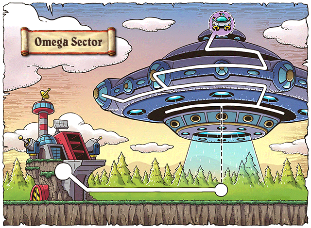 WorldMap Omega Sector