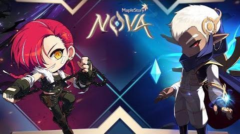 MapleStory Nova Announcement Trailer